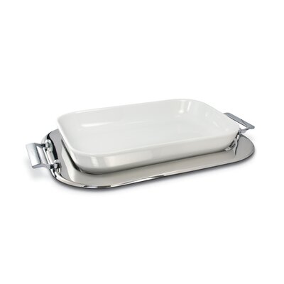 "Cuisinox 17"" x 11"" Porcelain Baker Set"