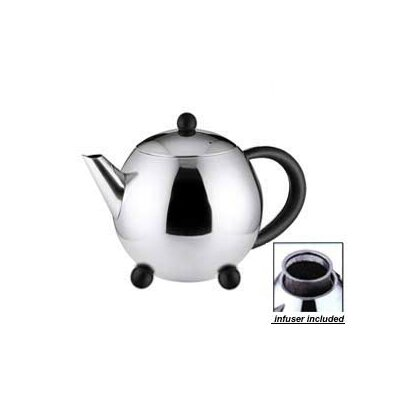 Cuisinox 1-qt. Teapot with Black Handle
