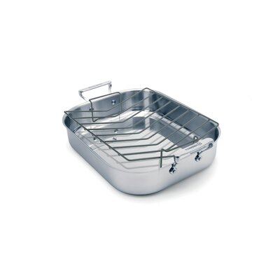 Cuisinox Large Elite Open Roaster with Rack
