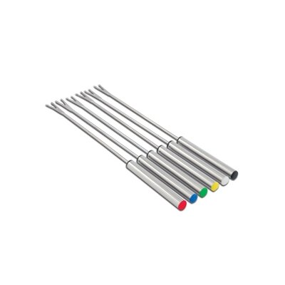 Cuisinox Elite Fondue Fork with Colored Tips (Set of 6)