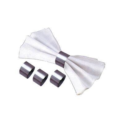 "Cuisinox 1.2"" Round Napkin Ring (Set of 4)"