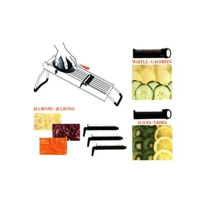 "Cuisinox 17.6"" Mandoline with Blades"