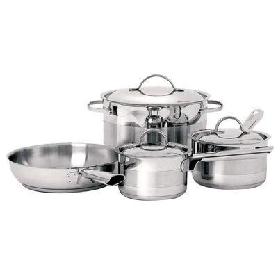 <strong>Cuisinox</strong> Gourmet 3-Ply Stainless Steel 7-Piece Cookware Set