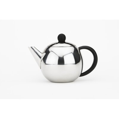 Cuisinox 28 Oz Teapot with Black Handle