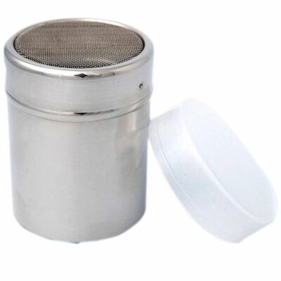 Cocoa / Cinnamon Mesh Dispenser with Plastic Cap
