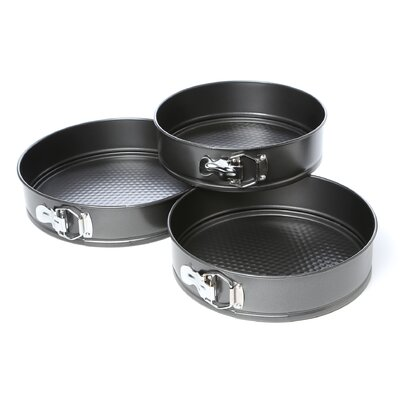 3 Piece Spring Form Pans Set
