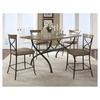 <strong>Hillsdale Furniture</strong> Charleston 5 Piece Counter Height Dining Set