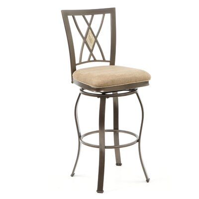 "Hillsdale Furniture Brookside 30"" Swivel Bar Stool"