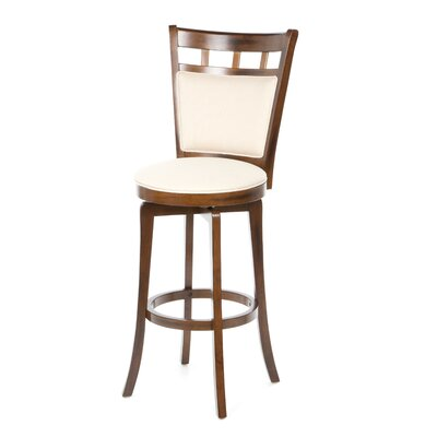 "Hillsdale Furniture Jefferson 30"" Swivel Bar Stool with Cushion"