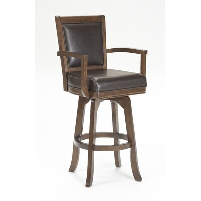 "Hillsdale Furniture Ambassador 30"" Swivel Bar Stool"