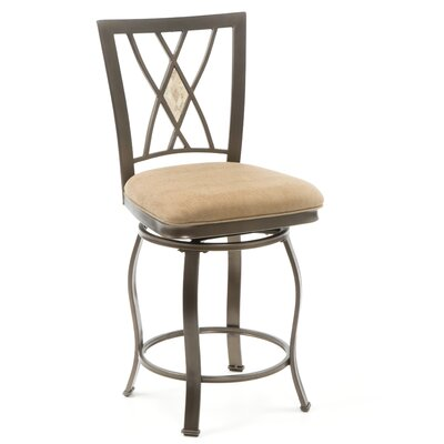 "Hillsdale Furniture Brookside 24"" Swivel Bar Stool"