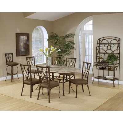 Hillsdale Furniture Brookside 7 Piece Dining Set