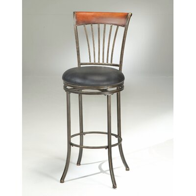 "Hillsdale Furniture Riley 30"" Swivel Bar Stool"