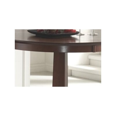 Hillsdale Furniture Plainview Bar Height Bistro Table in Brown