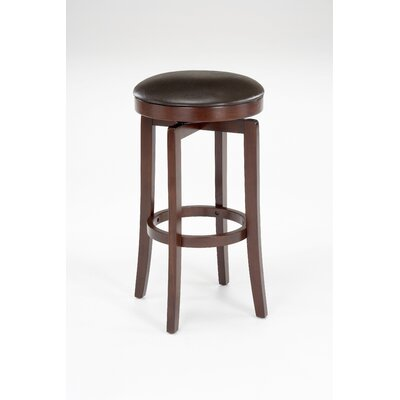 Hillsdale Furniture Malone Backless Bar Stool in Cherry