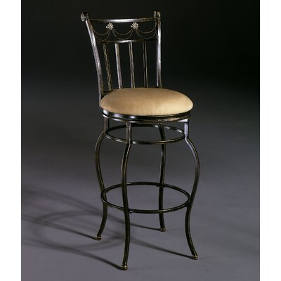 "Hillsdale Furniture Camelot II 26"" Swivel Counter Stool"