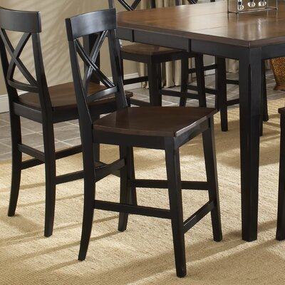 Englewood Stationary Counter Stool (Set of 2)