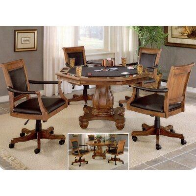 Hillsdale Furniture Kingston Poker Table Set