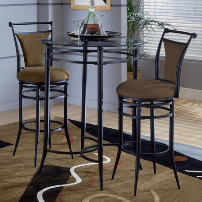 Hillsdale Furniture Cierra Pub Table with Optional Stools