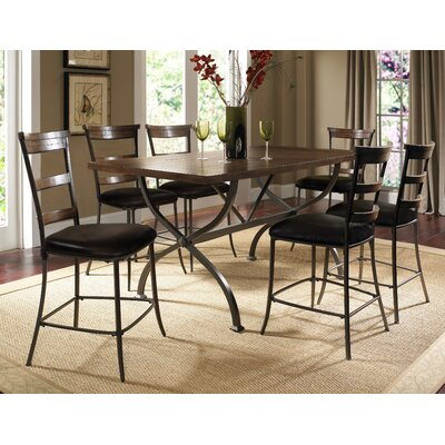 Hillsdale Furniture Cameron 7 Piece Counter Height Dining Set