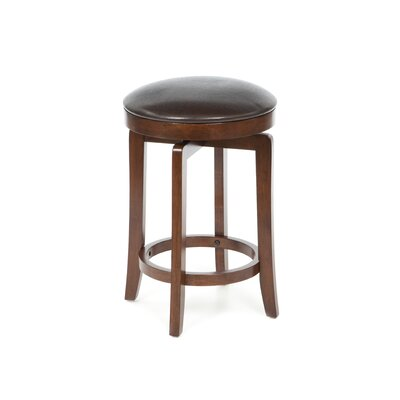 Hillsdale Furniture Malone Backless Counter Stool in Cherry