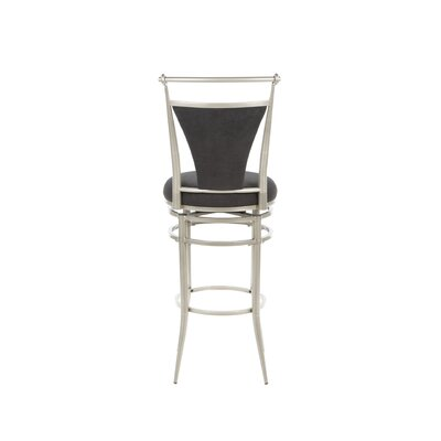 "Hillsdale Furniture Cierra Black Swivel 30"" Bar Stool"