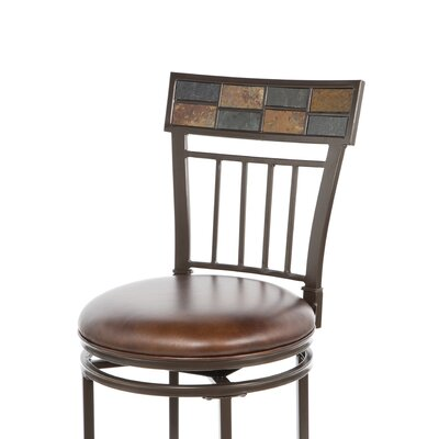 "Hillsdale Furniture Montero 30"" Barstool in Copper"
