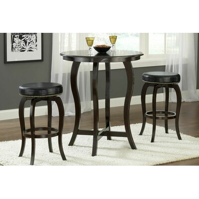 Hillsdale Furniture Wilmington 3 Piece Bar Height Bistro Set