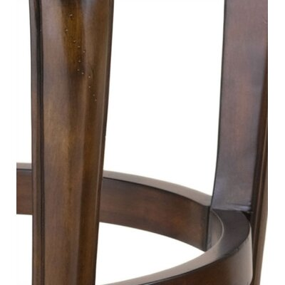 "Hillsdale Furniture Fleur De Lis 24"" Swivel Bar Stool"