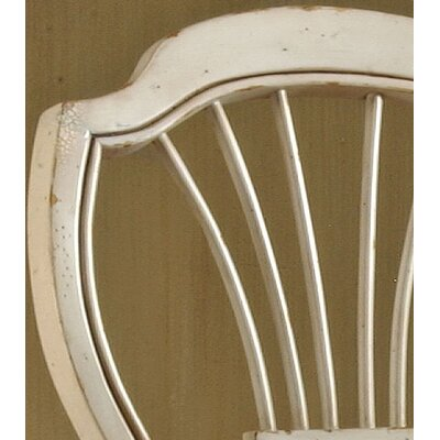 "Hillsdale Furniture Wilshire White 23.25"" Counter Stool (Set of 2)"