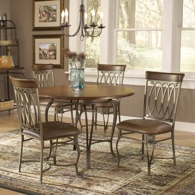 Hillsdale Furniture Montello 5 Piece Dining Set