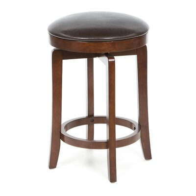 "<strong>Hillsdale Furniture</strong> 25"" Swivel Bar Stool with Cushion"