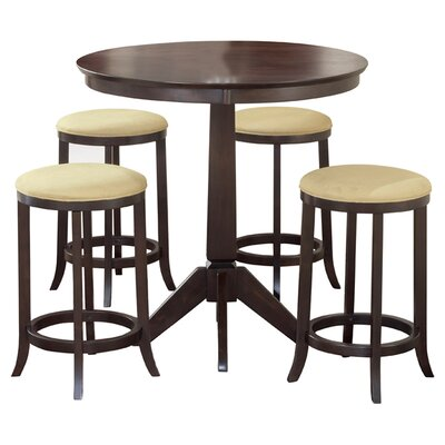 Hillsdale Furniture Tiburon 5 Piece Dining Set