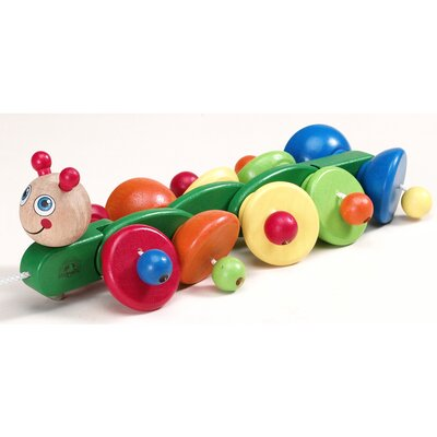 Wonderworld Sprinter Caterpillar Wooden Pull-Along Toy