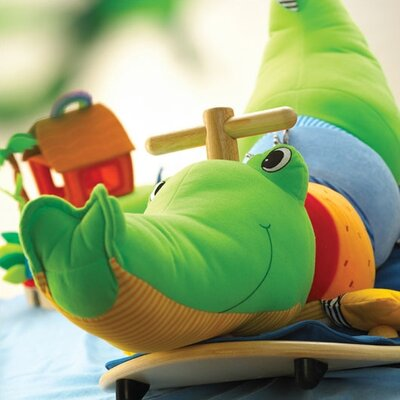 Wonderworld Rocking Crocodile Ride-On Rocker