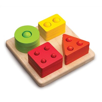 Wonderworld Counting Shape Sorter Activity Toy