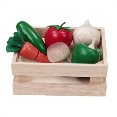 Wonderworld Veggie Basket Play Food Set