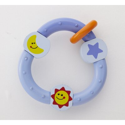 Wonderworld Sky Rattle in Blue