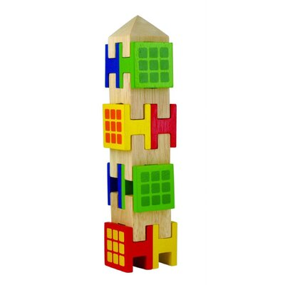 Wonderworld Stacking Town Building Blocks