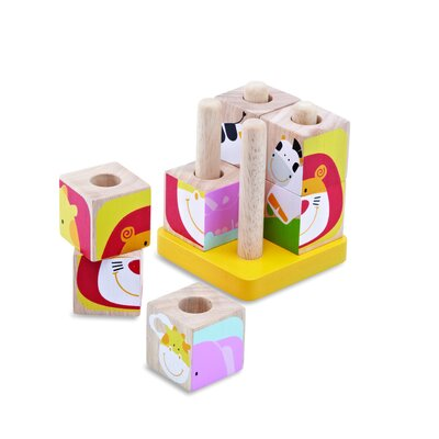Wonderworld Safari Cubes