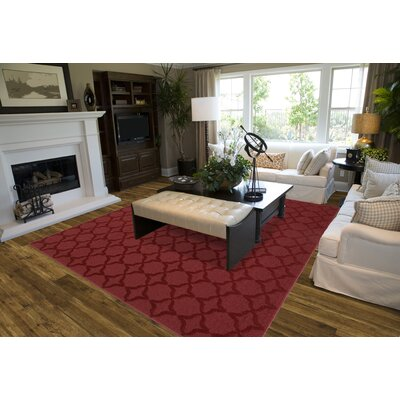 Garland Rug Magic Odor Eliminating Chili Red Sparta Rug