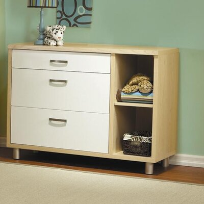 PALI Milano 3-Drawer Dressing Chest