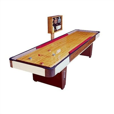 Venture Shuffleboards Classic Coin Operated Cushion Shuffleboard with Optional Accessories