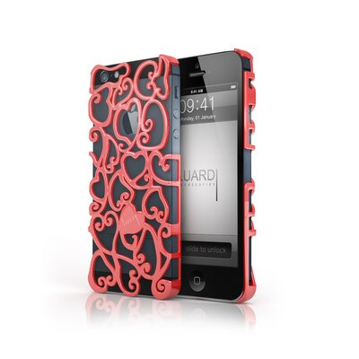 Luardi iPhone 5/5S Amore Metal Art Snap-on Case