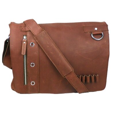 Vagabond Traveler Asymmetrical Laptop Messenger Bag