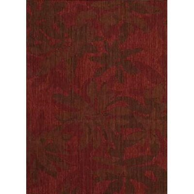 Calvin Klein Home Rug Collection CK 19 Urban Winter Flower Garnet Rug