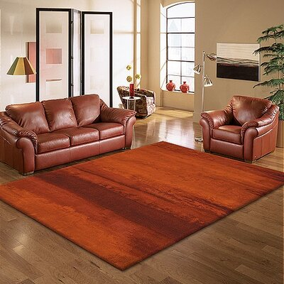 Calvin Klein Home Rug Collection Luster Wash Russet Tones Rug
