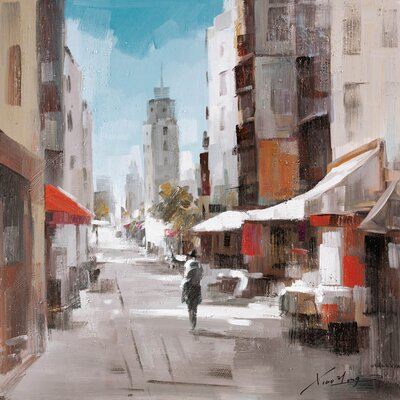 100 Essentials Street Oil Painting