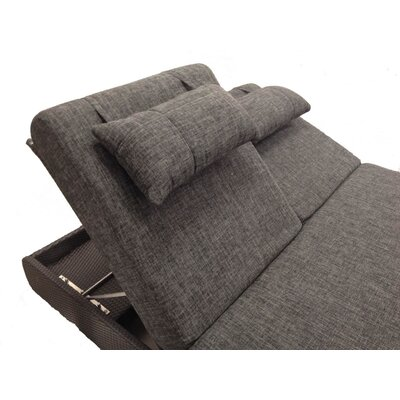 100 Essentials Sumba Double Sun Lounge with Cushions