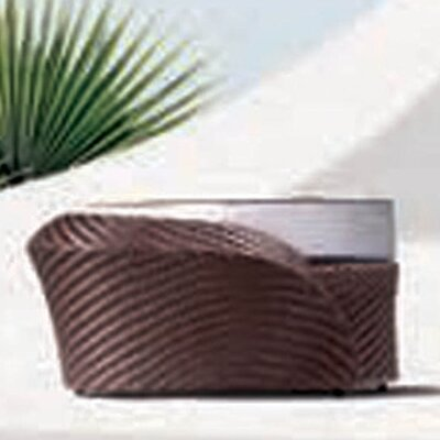 100 Essentials Eclipse Foot Stool with Cushion